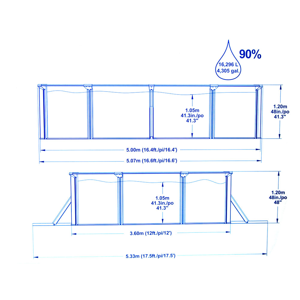 Bestway Hydrium Titan Steel Wall Above Ground Swimming Pool W Sand Filter Pump Ebay