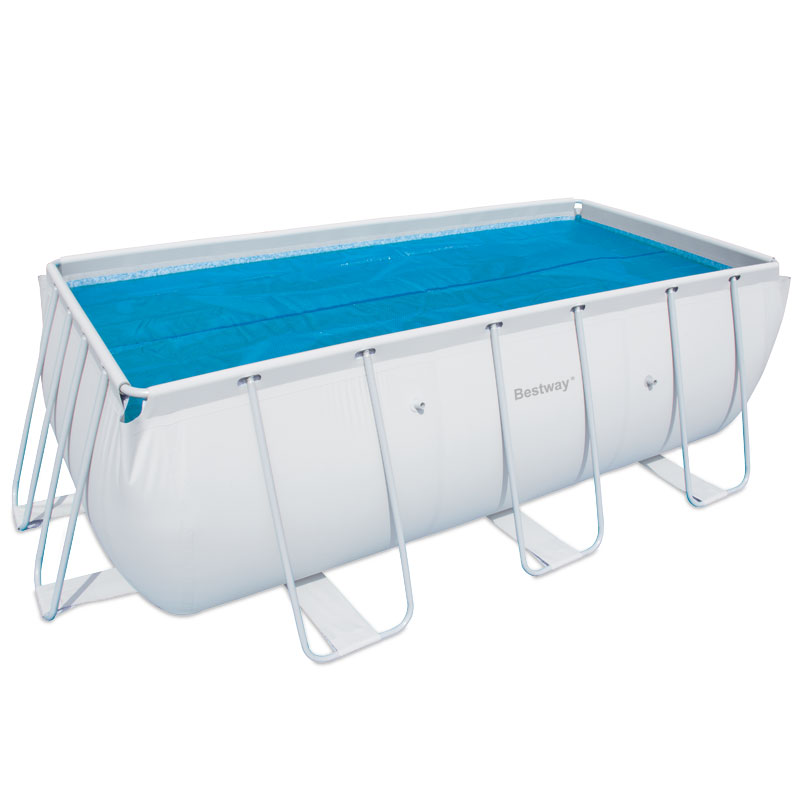 Solar cover for bestway swimming pool 56241 56244 56251 for Bestway pool obi