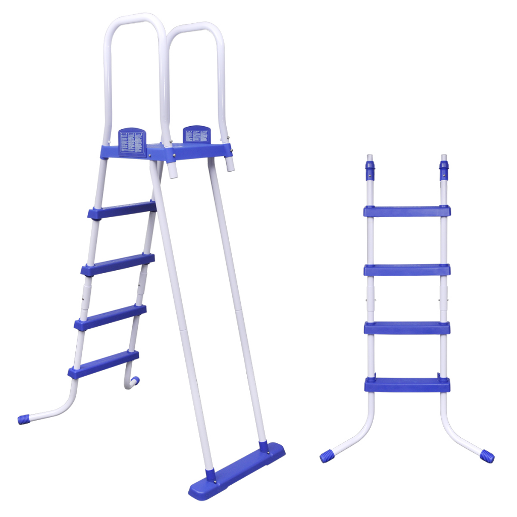 Bestway safety pool ladder with removable step for above