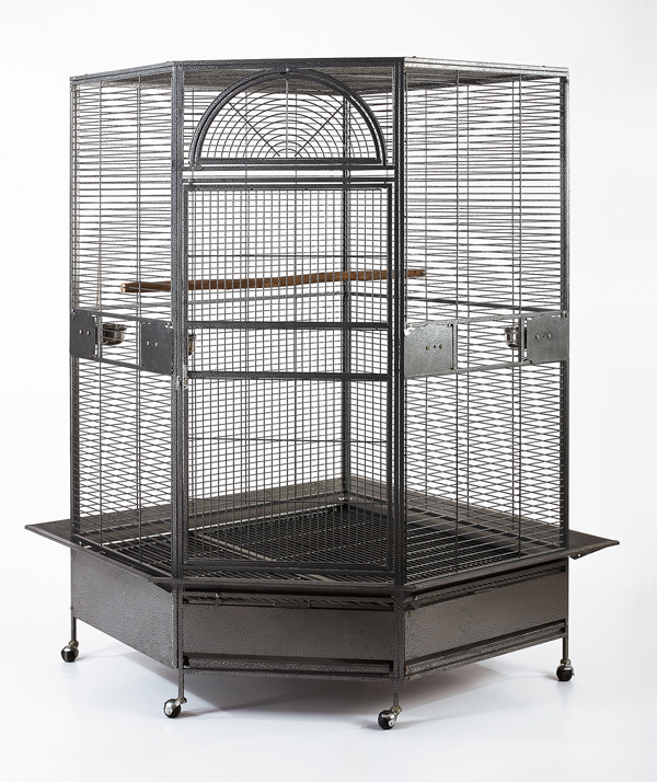 xl parrot escape jumbo corner bird aviary cage 73 height ebay. Black Bedroom Furniture Sets. Home Design Ideas