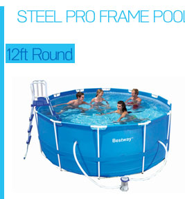 Heavy Duty Bestway Steel Pro Frame Above Ground Swimming