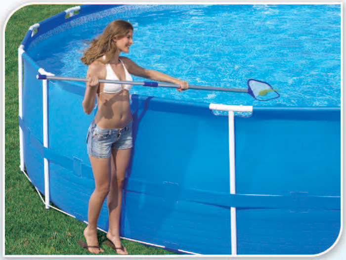 Deluxe Maintenance Kit Surface Skimmer Swimming Pool