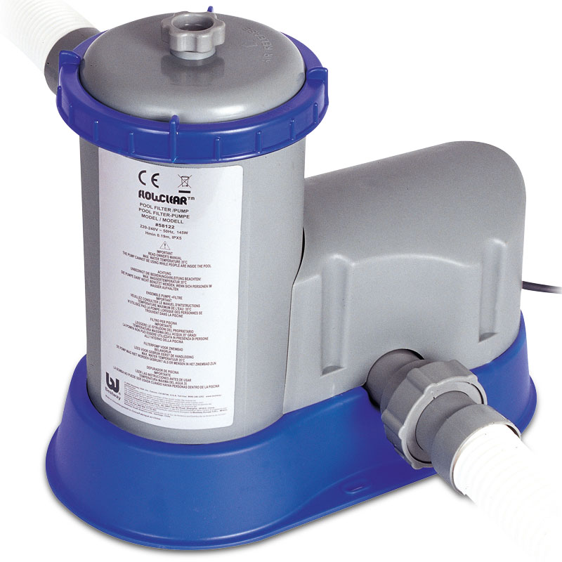 bestway 58122 flowclear 1500gph filter pump for swimming pool ebay. Black Bedroom Furniture Sets. Home Design Ideas