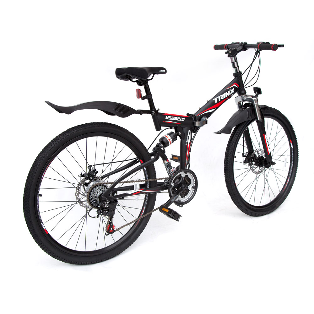 Trinx 26 Folding Mountain Bike 21 Speed Shimano Full Suspension